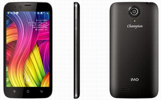 Champion merupakan perangkat andalan IMO yang termasuk murah Spesifikasi Dan Harga Hp IMO S98 Champion Android Quad Core Murah