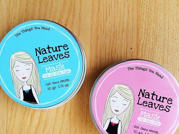 [Review] Nature Leaves - Oily skin type