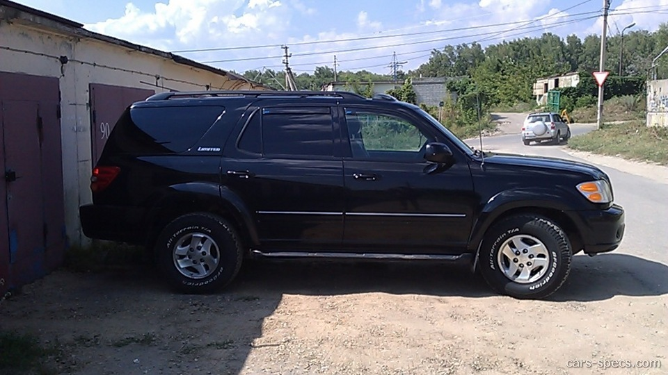 2004 toyota sequoia suv specifications pictures prices. Black Bedroom Furniture Sets. Home Design Ideas