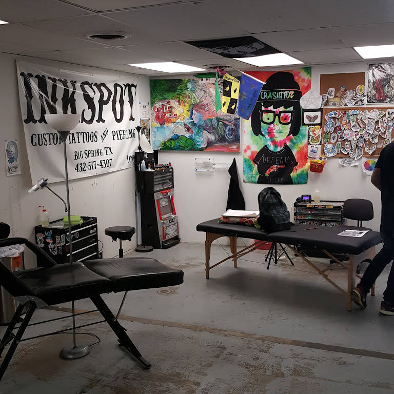The Inkspot Tattoo And Piercing Shop In Big Spring