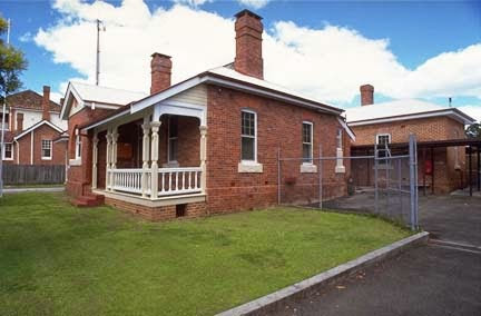 The police station at Maclean NSW