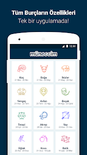 Müneccim | Günlük Burç Yorumları, Tarot ve El Falı Screenshot