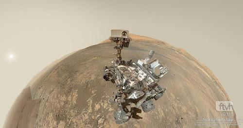 Chụp ảnh selfie tại đồi Vera Rubin trên Sao Hỏa