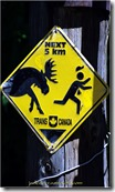 Moose Warning Sign Canada (2)
