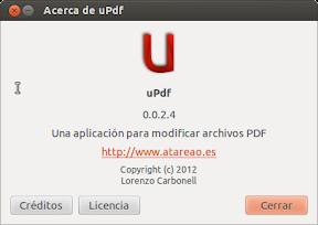 Mover, copiar y pegar en archivos pdf con uPdf