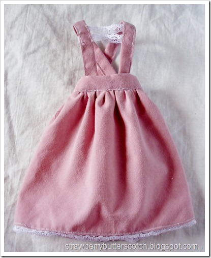 Two of a Kind Pink Dresses and Tops for Ball Jointed Dolls