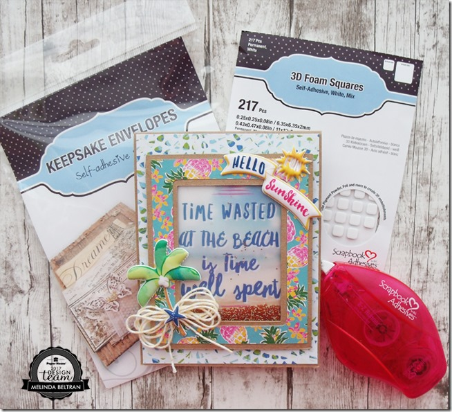 3L Adhesive & Paper House Productions Blog Hop Project