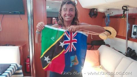 """Nuove bandiere """"esotiche"""" - St. Kitts e Nevis, Montserrat"""