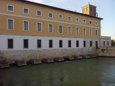 Casa de Compuertas, Canal Imperial de Aragón