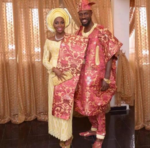 Best Nigerian Traditional Wedding Dresses Brides & Groom | Fashionte