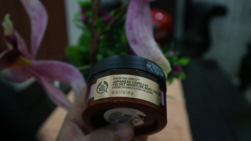 Japanese Camellia Velvet Moisture Body Cream