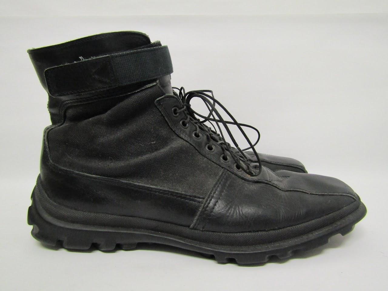 Miu Miu Lace-Up Boots