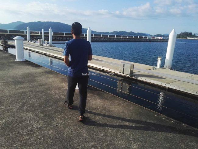 view cantik di sutera harbour resort sabah