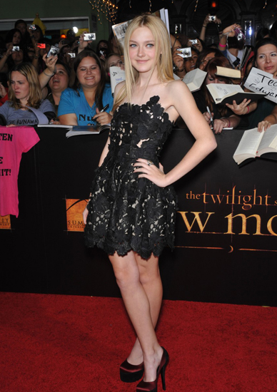 8 Dakota Fanning 4 Million for The Twilight Saga Breaking Dawn 2009 Age 15 and Part 2 Age 18