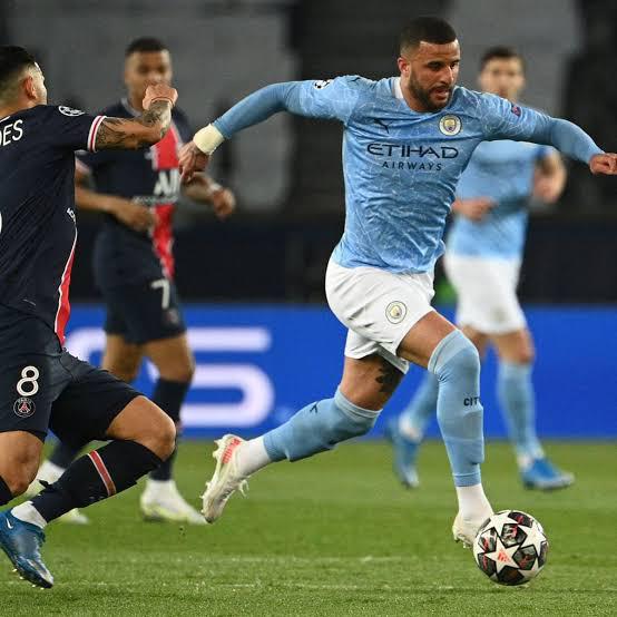 Kyle Walker explains why Man City beat PSG - Champions League