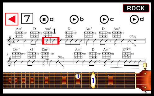 Learn how to play guitar android apps on google play learn how to play guitar screenshot thumbnail ccuart Choice Image