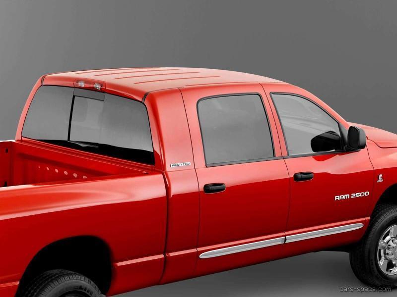 2006 dodge ram pickup 2500 mega cab specifications pictures prices. Black Bedroom Furniture Sets. Home Design Ideas