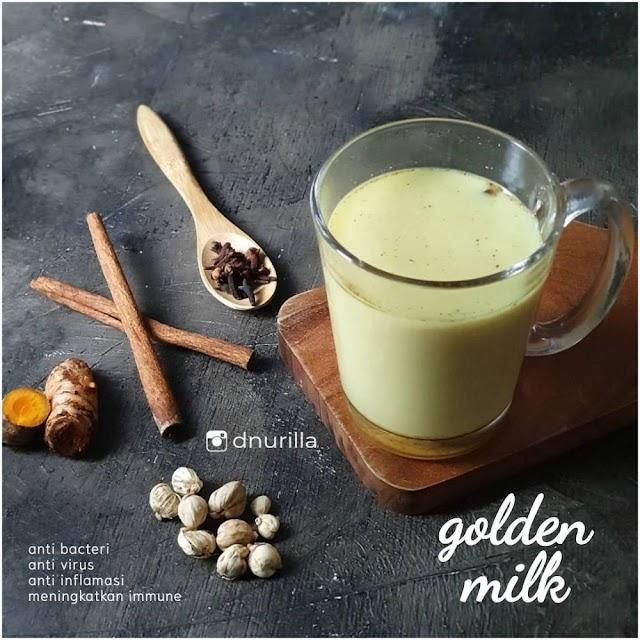 Begini Cara Gampang Membuat Golden milk