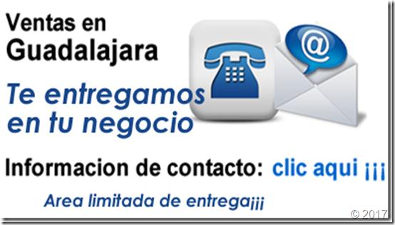 Entregas en Guadalajara limitadas