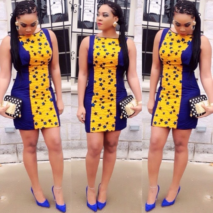 ankara short gown designs (6)