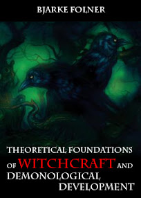 Cover of Bjarke Folner's Book Theoretical Foundations of Witchcraft and Demonological Development