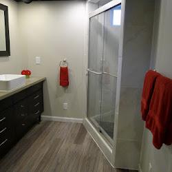 Basement Bathroom Construction