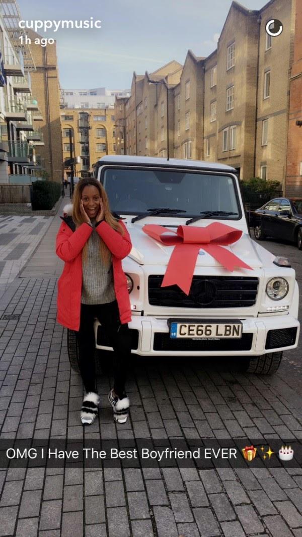 Surprise Birthday Gift By Victor Anichebe To Girlfriend