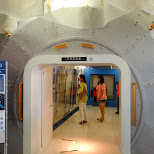 ISS module at the Miraikan Museum of Emerging Science and Innovation in Odaiba, Tokyo, Japan