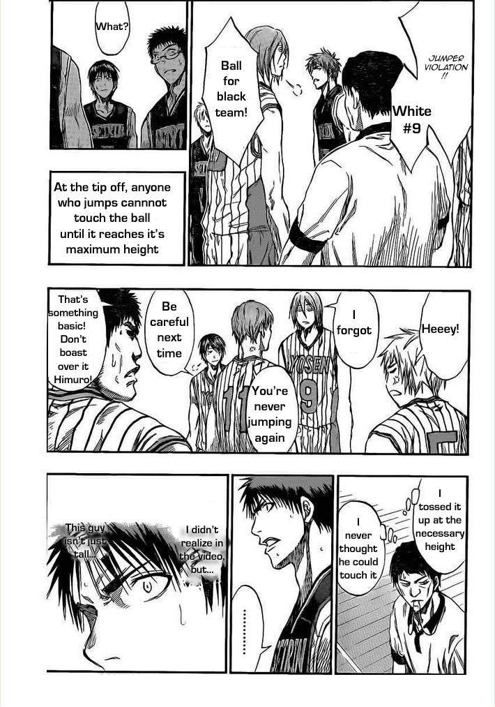 Kuroko no Basket Manga Chapter 146 - Image 04