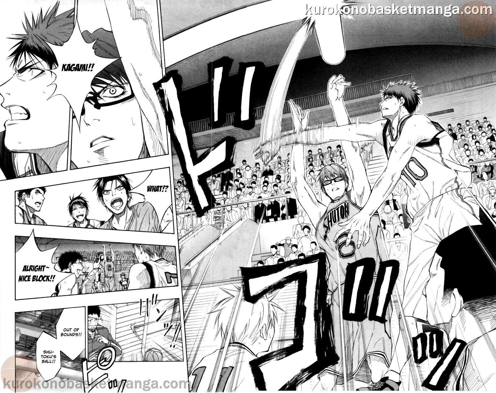 Kuroko no Basket Manga Chapter 86 - Image 12-13
