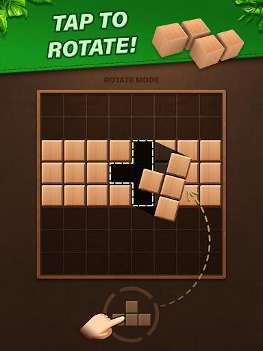 Fill Wooden Block 8x8: Wood Block Puzzle Classic  screenshots 12