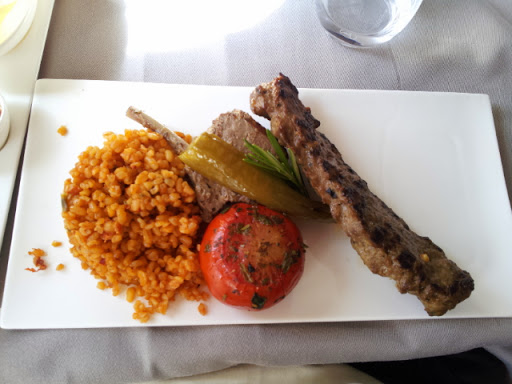 More dinner. From What's It Really Like to Fly Turkish Airlines Business Class?