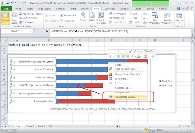 create a project plan in excel
