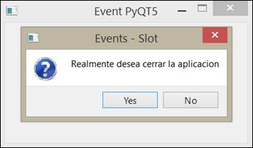 pyqt5 event slot