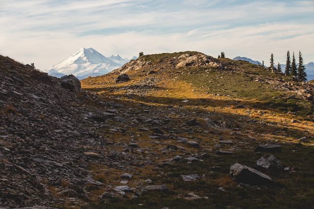 Mount Baker from Mount Cheam. Photographer Isaac Wray