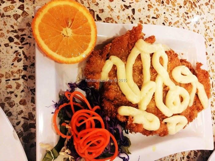 ayam crispy lemon sauce