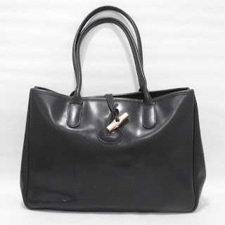 Longchamp Leather Shoulder Tote