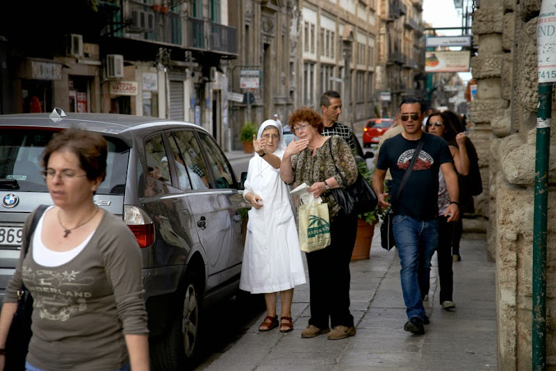 """37. """"Go there. Turn left."""" Palermo. Sicily. 2013"""