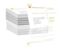 présentation stylisée carte de visite Sans Exception