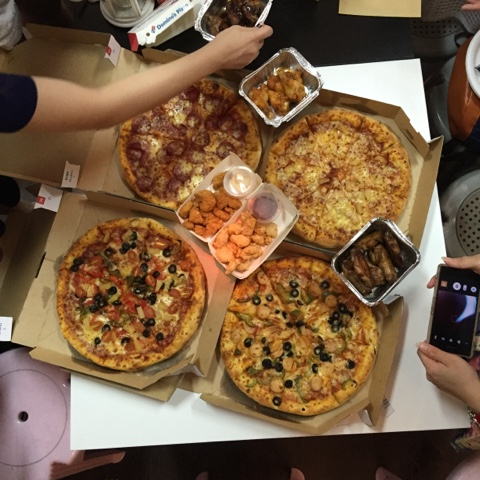 pizza party ideas in singapore