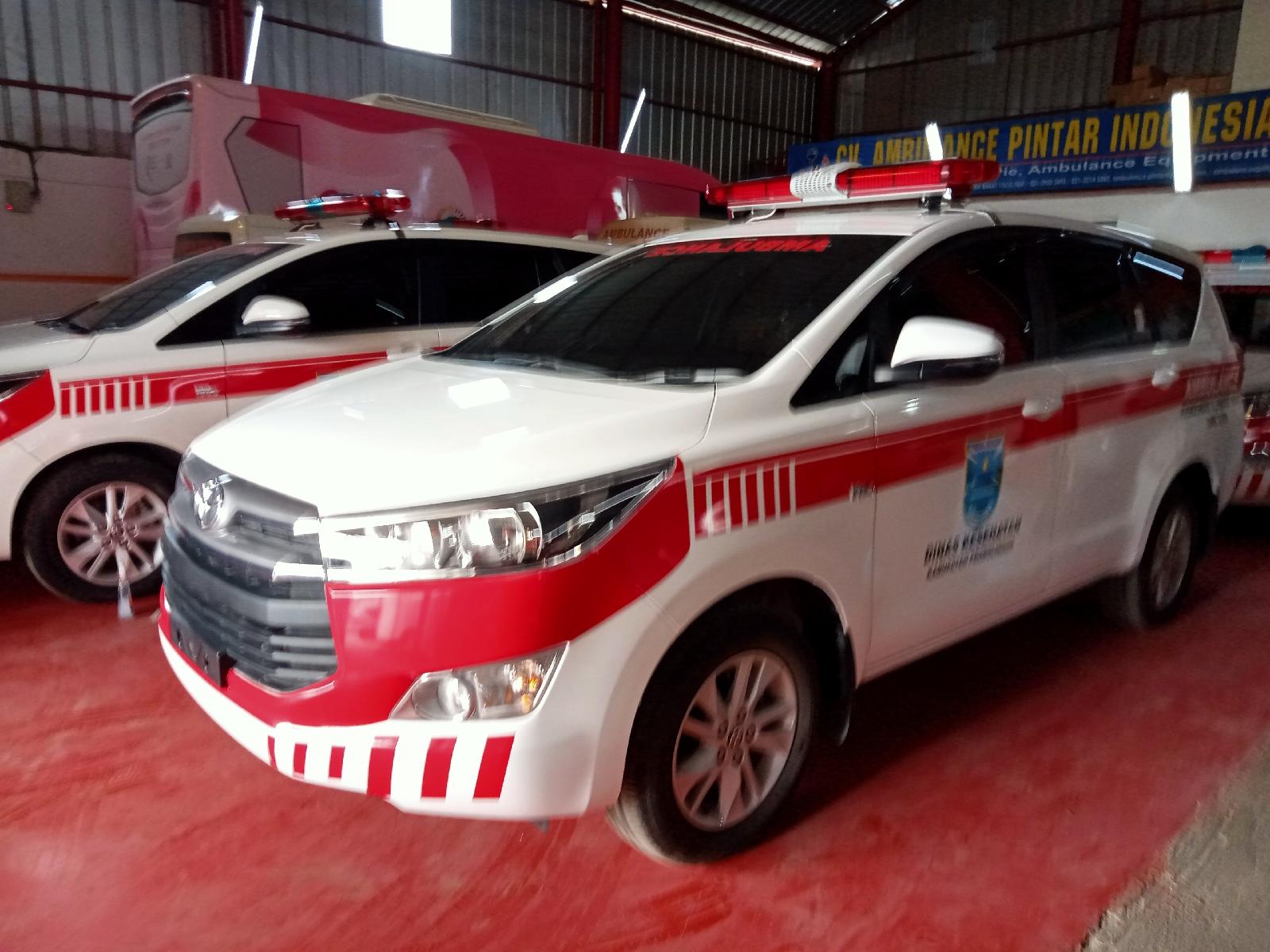 Dealer Karoseri Ambulance Toyota Innova Standard