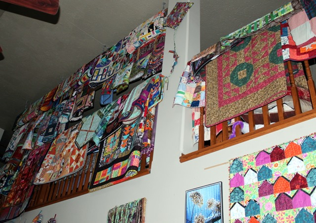quilts are everywhere