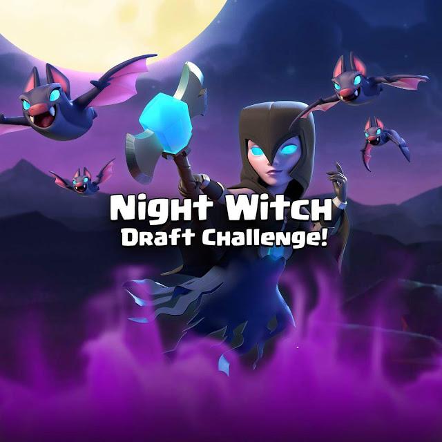 Clash Royale Kara Cadı Etkinliği Başladı