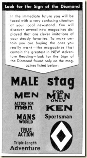 ACTION FOR MEN - 1961 05 May - Diamond Atlas logo
