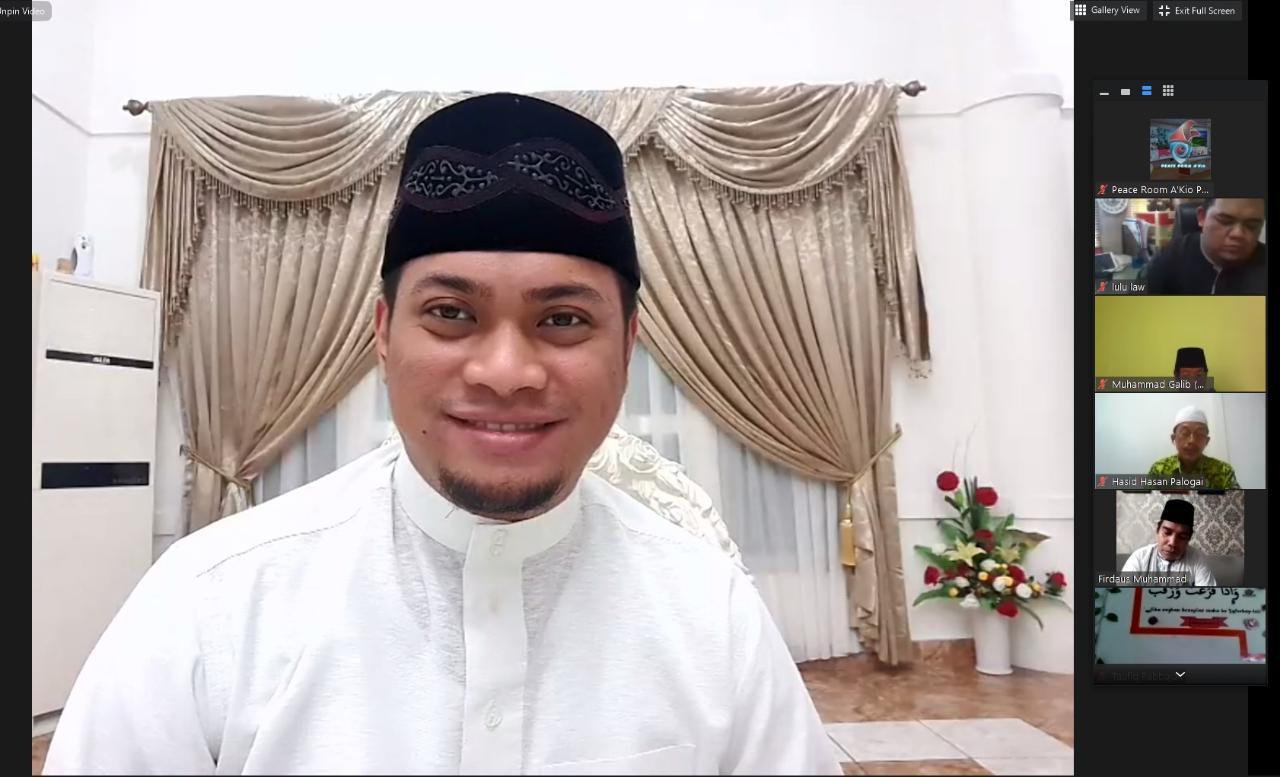 Bupati Adnan Jadi Narasumber Dialog Ramadhan Memakmurkan Masjid Pasca Covid-19