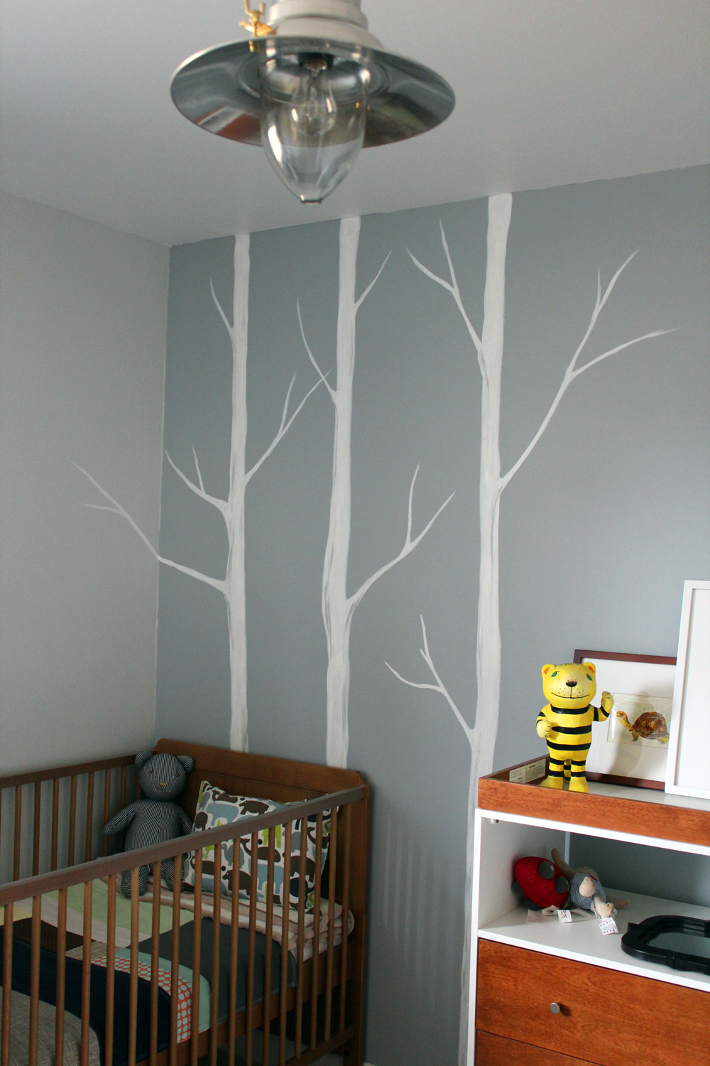 The forge diy wall mural for Diy wall photo mural