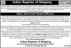 IRCLASS Recruitment 2015 indgovtjobs