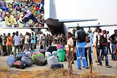 Xenophobia: 320 Nigerians to arrive Wednesday from South Africa - FG