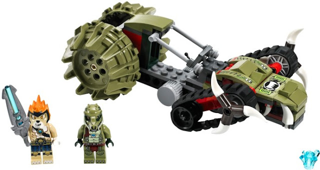 レゴ チーマ クロウリーのクロウ・リッパー 70001