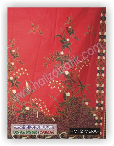 Toko Baju, Contoh Baju Batik, Batik Wanita Modern, HM12 MERAH